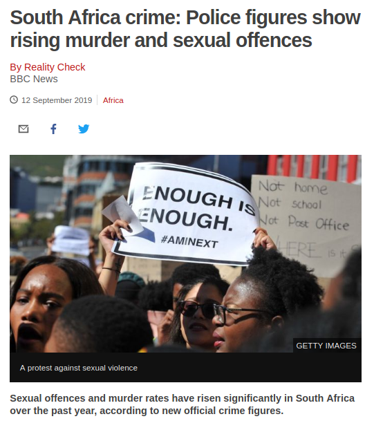 SA crime Police figures show rising murder and sexual offences