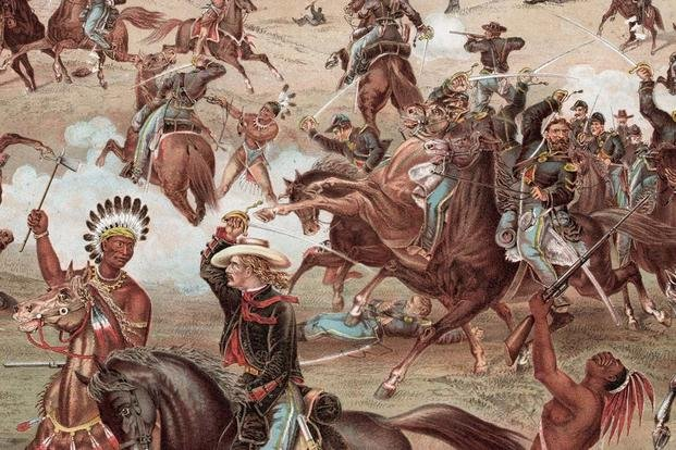 Custer's Last Stand at the 1876 Battle of Little Bighorn